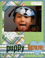 Scrapbooking Page Ideas Puppy Love
